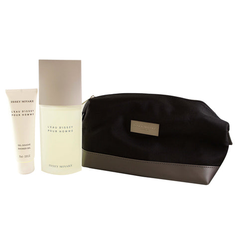 LE115M - L'Eau De Issey 3 Pc. Gift Set for Men