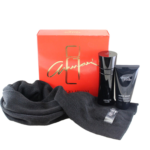 BLA26M - Armani Code 3 Pc. Gift Set for Men