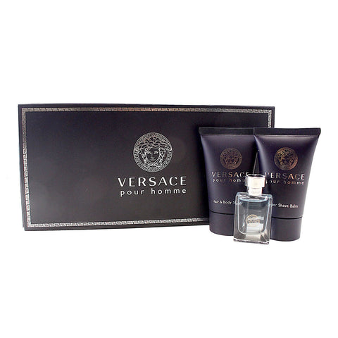 VPH36M - Versace Pour Homme 3 Pc. Gift Set for Men