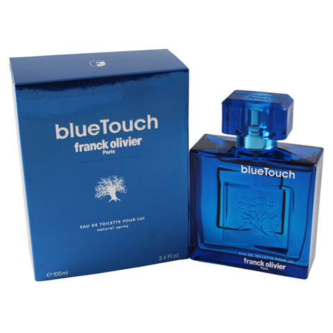 BT34M - Blue Touch Eau De Toilette for Men - Spray - 3.4 oz / 100 ml