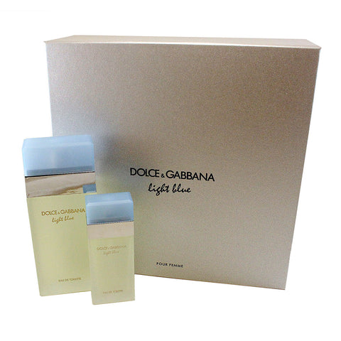 DO200 - Dolce & Gabbana Light Blue 2 Pc. Gift Set for Women