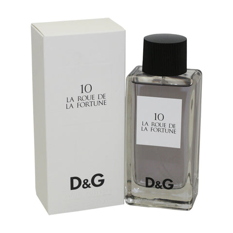 DOLR19 - D & G 10 La Roue De La Fortune Eau De Toilette for Women - Spray - 3.3 oz / 100 ml