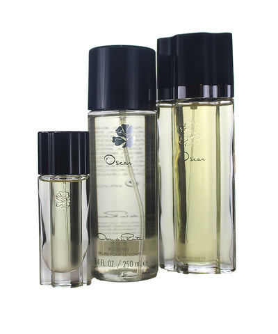 OSG84 - Oscar de la Renta Oscar 3 Pc. Gift Set for Women - Body Mist 8.4 oz + EDT 3.4 oz + EDT 0.5 oz