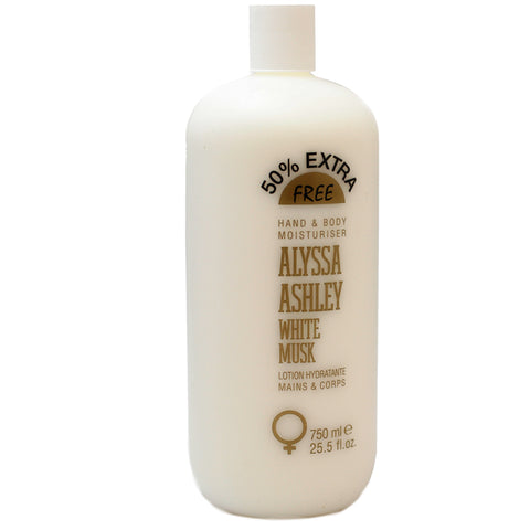ALY69 - Alyssa Ashley White Musk Hand & Body Lotion for Women - 25.5 oz / 750 ml