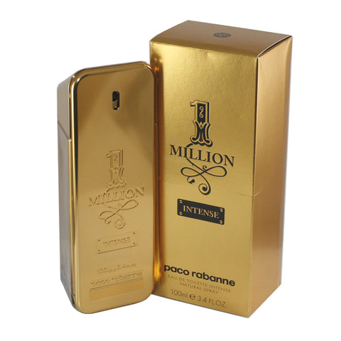 MILL20 - 1 Million Intense Eau De Toilette for Men - Spray - 3.4 oz / 100 ml