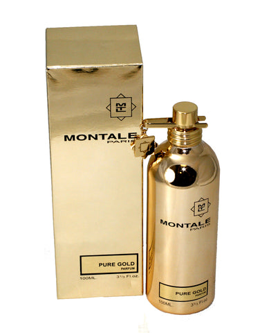 MONT179 - Montale Pure Gold Eau De Parfum Unisex - Spray - 3.3 oz / 100 ml