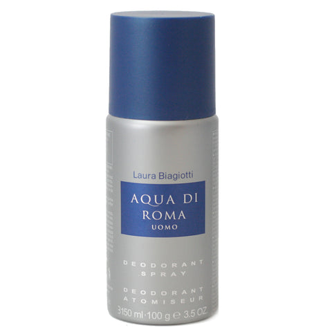 AQU10M - Aqua Di Roma Uomo Deodorant for Men - Spray - 3.5 oz / 100 g
