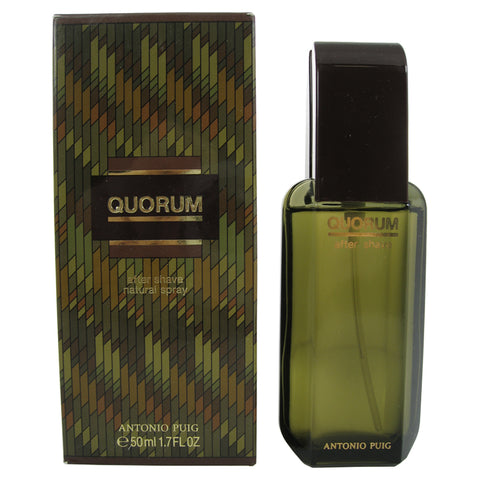 QU312M - Antonio Puig Quorum Aftershave for Men | 1.7 oz / 50 ml - Spray