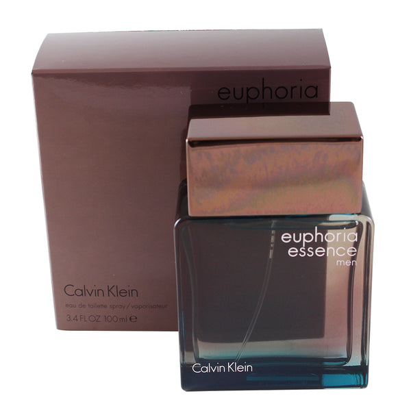 EE34M - Euphoria Essence Eau De Toilette for Men - 3.4 oz / 100 ml