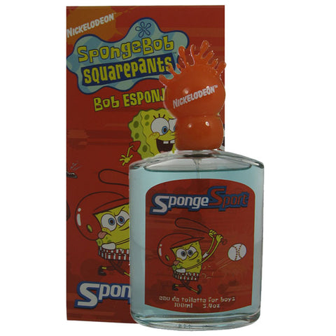 SPO9M - Spongebob Squarepants Sponge Sport Eau De Toilette for Men - Spray - 3.4 oz / 100 ml