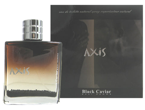 AX19M - Axis Black Caviar Pour Homme Eau De Toilette for Men - Spray - 3 oz / 90 ml