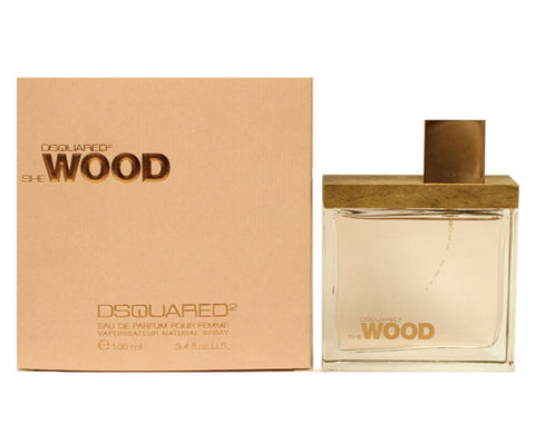 DESW12 - Dsquared2 She Wood Eau De Parfum for Women - 3.4 oz / 100 ml Spray