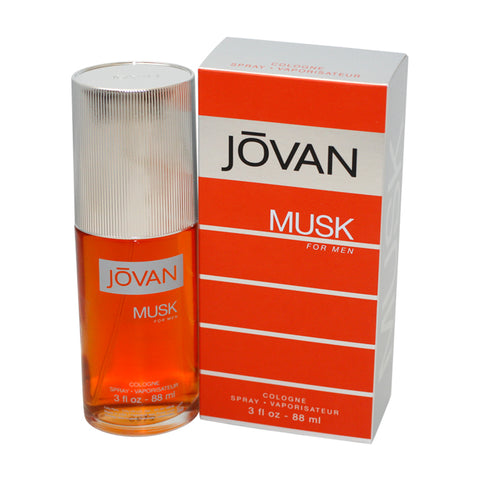 JO71M - Jovan Musk Cologne for Men - 3 oz / 88 ml Spray