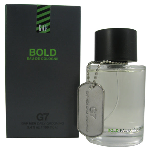 GAP12M - Gap G7 Bold Eau De Cologne for Men - 3.4 oz / 100 ml