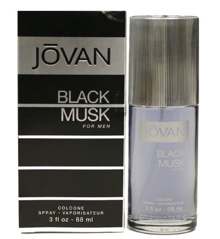 JOB71M - Jovan Black Musk Cologne for Men - 3 oz / 90 ml Spray
