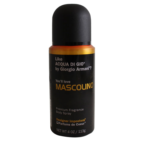MAS21M - Mascolino Premium Body Spray for Men - 4 oz / 113 g