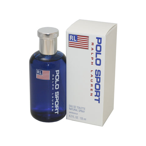 PO64M - Polo Sport Eau De Toilette for Men - 4.2 oz / 125 ml Spray