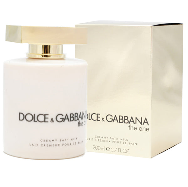 DOG49 - Dolce & Gabbana The One Bath Milk for Women - 6.7 oz / 200 ml