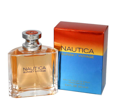 NIS34M - Nautica Sunset Voyage Eau De Toilette for Men - Spray - 3.4 oz / 100 ml