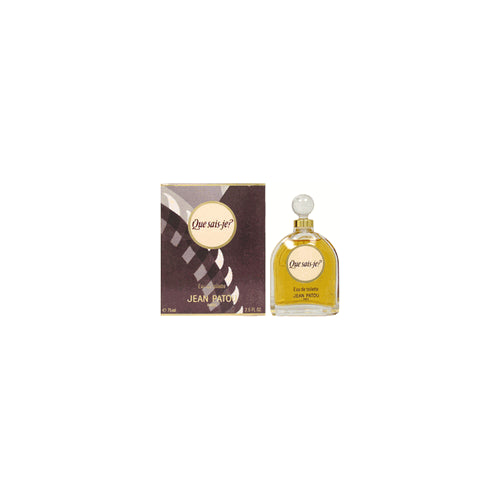 QUE26 - Que Sais-Je Eau De Toilette for Women - Splash - 2.5 oz / 75 ml
