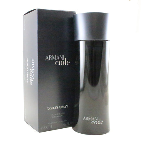 BLA14M - Armani Code Eau De Toilette for Men - Spray - 6.7 oz / 200 ml