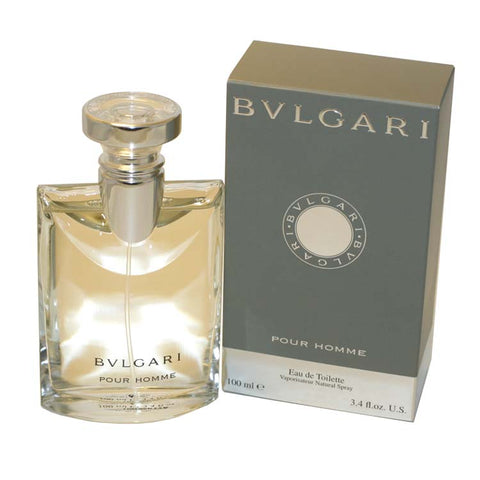 BV13M - Bvlgari Pour Homme Eau De Toilette for Men - Spray - 3.4 oz / 100 ml