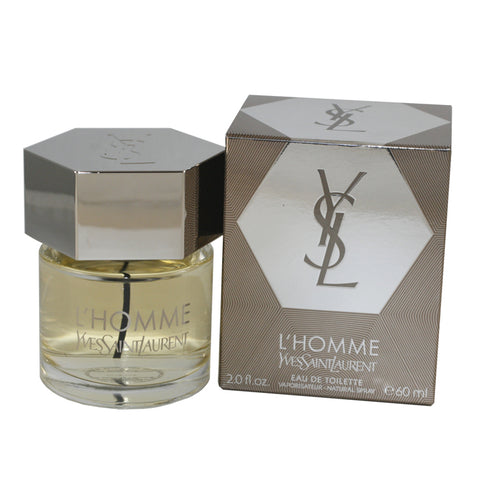 LHO14M - L'Homme Yves Saint Laurent Eau De Toilette for Men - Spray - 2 oz / 60 ml