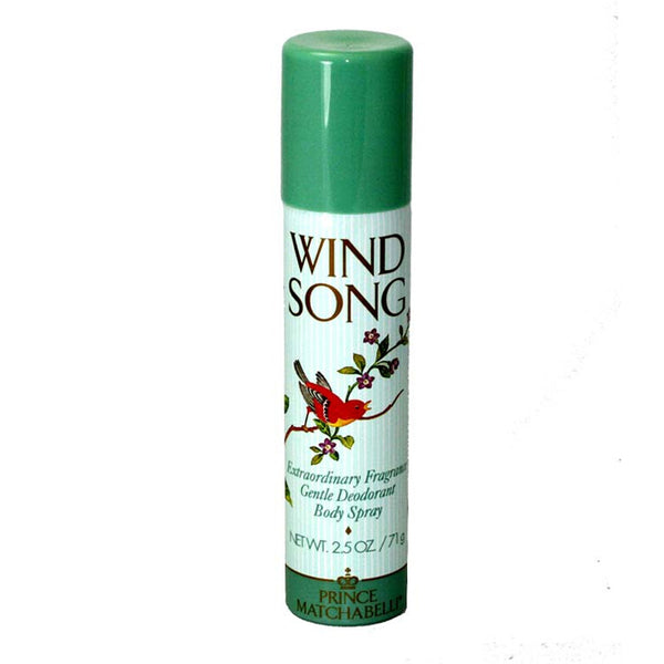 WI12 - Wind Song Deodorant for Women - Body Spray - 2.5 oz / 75 ml