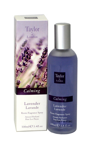 TOL34 - Taylor Of London Lavender Room Fragrance for Women - Spray - 3.4 oz / 100 ml