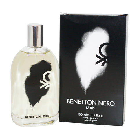 BN33M - Benetton Nero Eau De Toilette for Men - 3.3 oz / 100 ml Spray