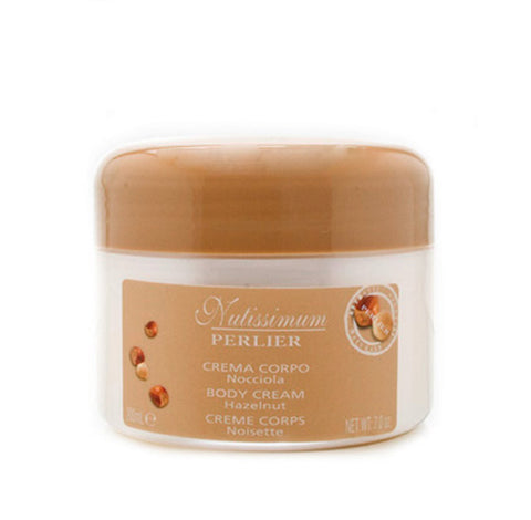 PG56W - Perlier Nutissimum Hazelnut Body Cream for Women - 7 oz / 200 g