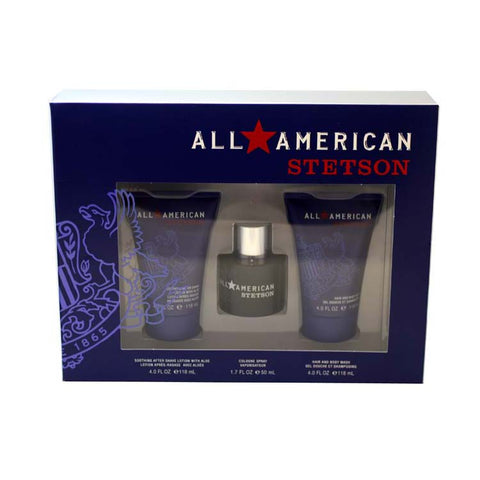 AAS50M - All American Stetson 3 Pc. Gift Set for Men