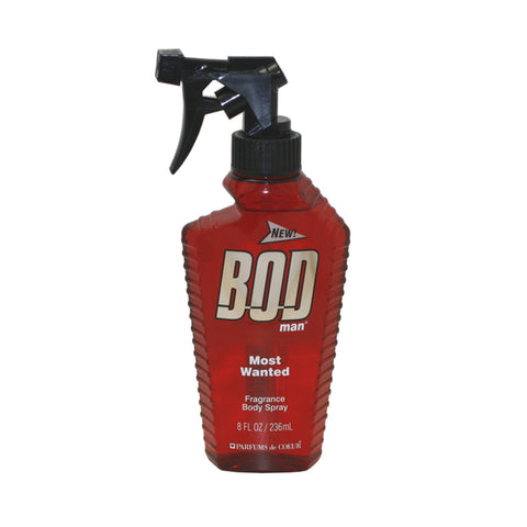 BODM8M - Bod Man Most Wanted Fragrance Body Spray for Men - 8 oz / 236 ml