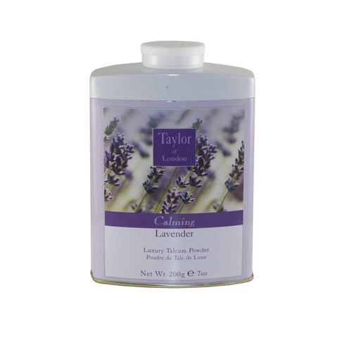 TOL38 - Taylor Of London Lavender Talcum Powder for Women - 7 oz / 210 g
