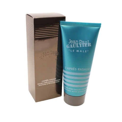 JE638M - Jean Paul Gaultier Le Male Aftershave for Men - 3.3 oz / 100 ml Balm