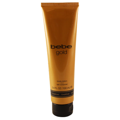 BBG36 - Bebe Gold Body Lotion for Women - 3.4 oz / 100 g