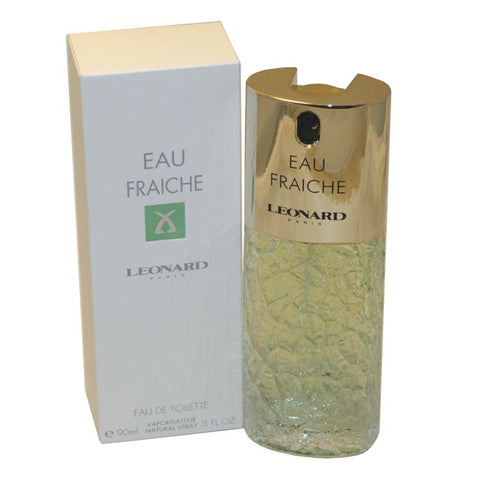 EAB190 - Eau Fraiche De Leonard Eau De Toilette for Women - Spray - 3 oz / 90 ml