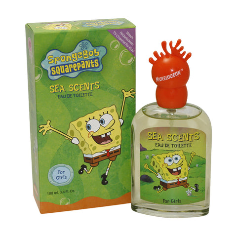 SPO33 - Spongebob Squarepants Sea Scents Eau De Toilette for Women - Spray - 3.4 oz / 100 ml