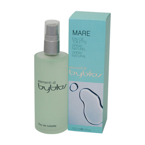 BY09 - Byblos Mare Eau De Toilette for Women - Spray - 4 oz / 120 ml