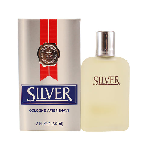 BR89M - British Sterling Silver Aftershave for Men - 2 oz / 60 ml