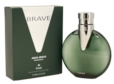 AGB23M - Agua Brava Brave Eau De Toilette for Men - Spray - 3.4 oz / 100 ml