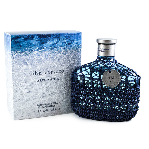 JVAB42M - John Varvatos Artisan Blu Eau De Toilette for Men - 4.2 oz / 125 ml Spray