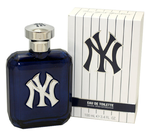 NY34M - New York Yankees Eau De Toilette for Men - 3.4 oz / 100 ml Spray
