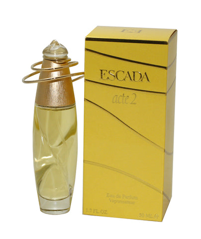 ES233 - Escada Acte 2 Eau De Parfum for Women - Spray - 1.7 oz / 50 ml
