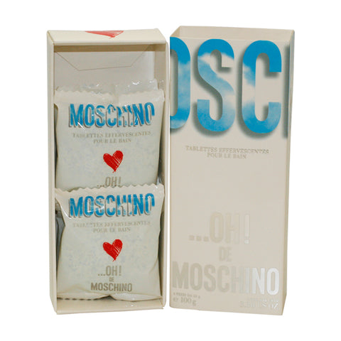 OHT3 - Oh De Moschino Bath Tablets for Women - 3.3 oz / 100 ml