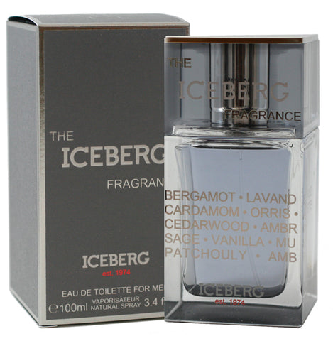 ICF33M - The Iceberg Fragrance Eau De Toilette for Men - Spray - 3.4 oz / 100 ml