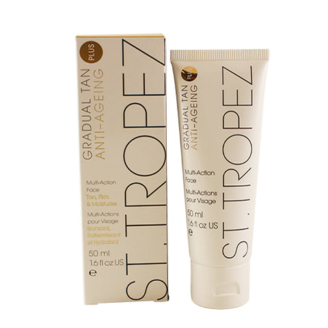 ST68 - St. Tropez Gradual Tan Plus Anti-Aging Multi-action Face for Women | 1.6 oz / 50 ml