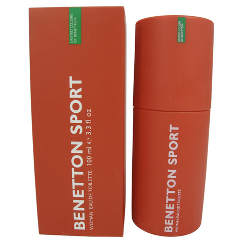 BES12 - Benetton Sport Eau De Toilette for Women - Spray - 3.3 oz / 100 ml