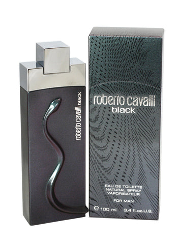 ROB77M - Roberto Cavalli Black Eau De Toilette for Men - Spray - 3.4 oz / 100 ml