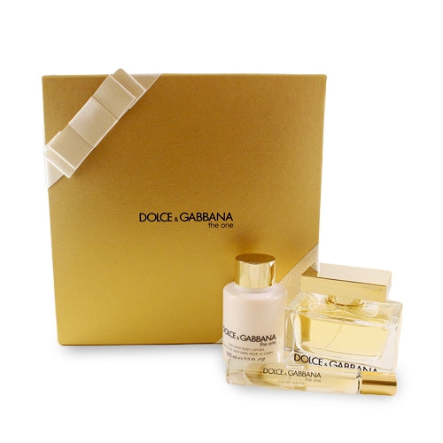 DOG73 - Dolce & Gabbana The One 3 Pc. Gift Set for Women